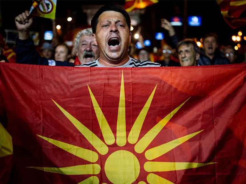Macedonian referendum backs new name to end Greek row