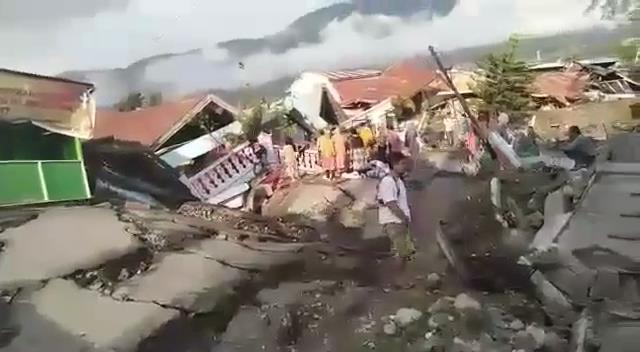 Indonesia earthquake death toll tops 1,200, calls for international help