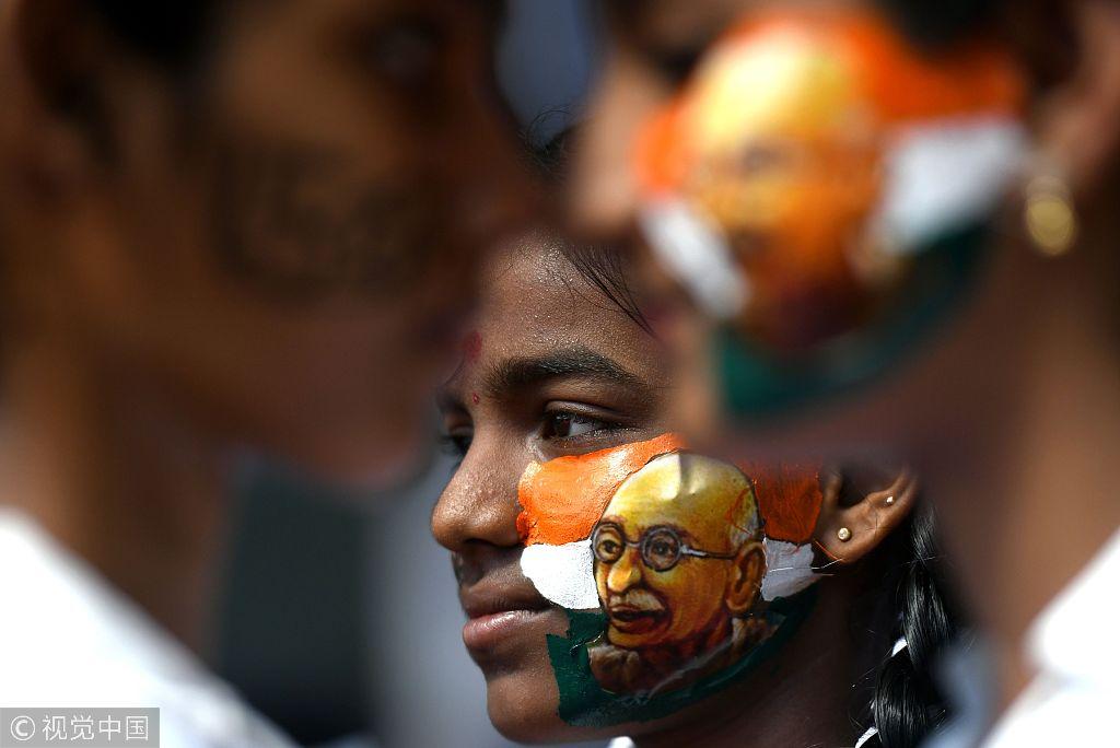 Indians prepare for Gandhi's 149th birth anniversary