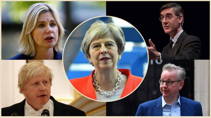 Divided party: Key players in UK Conservatives' Brexit splits