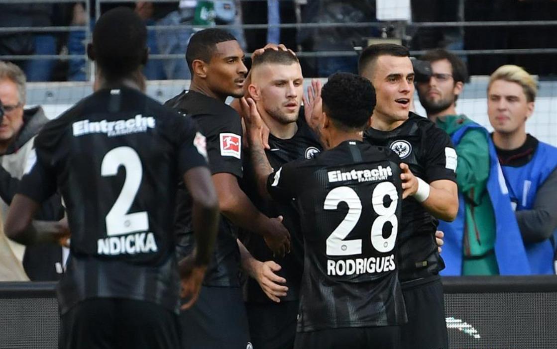 Frankfurt down Hannover 4-1 in German Bundesliga