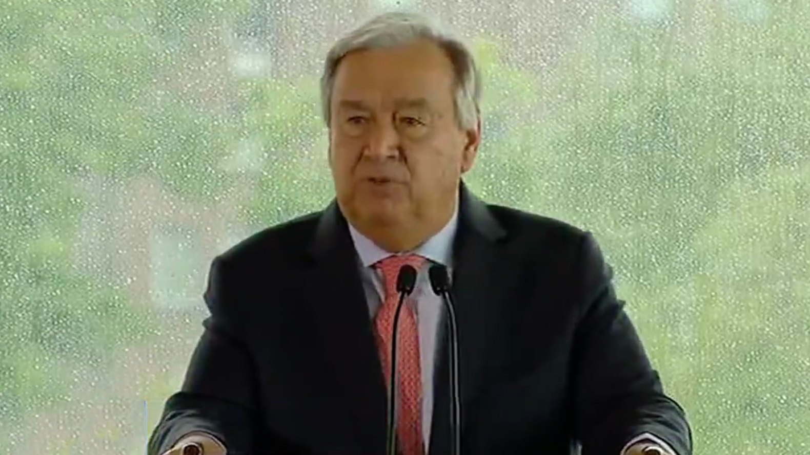Guterres: 'pivotal moment' in global warming has arrived