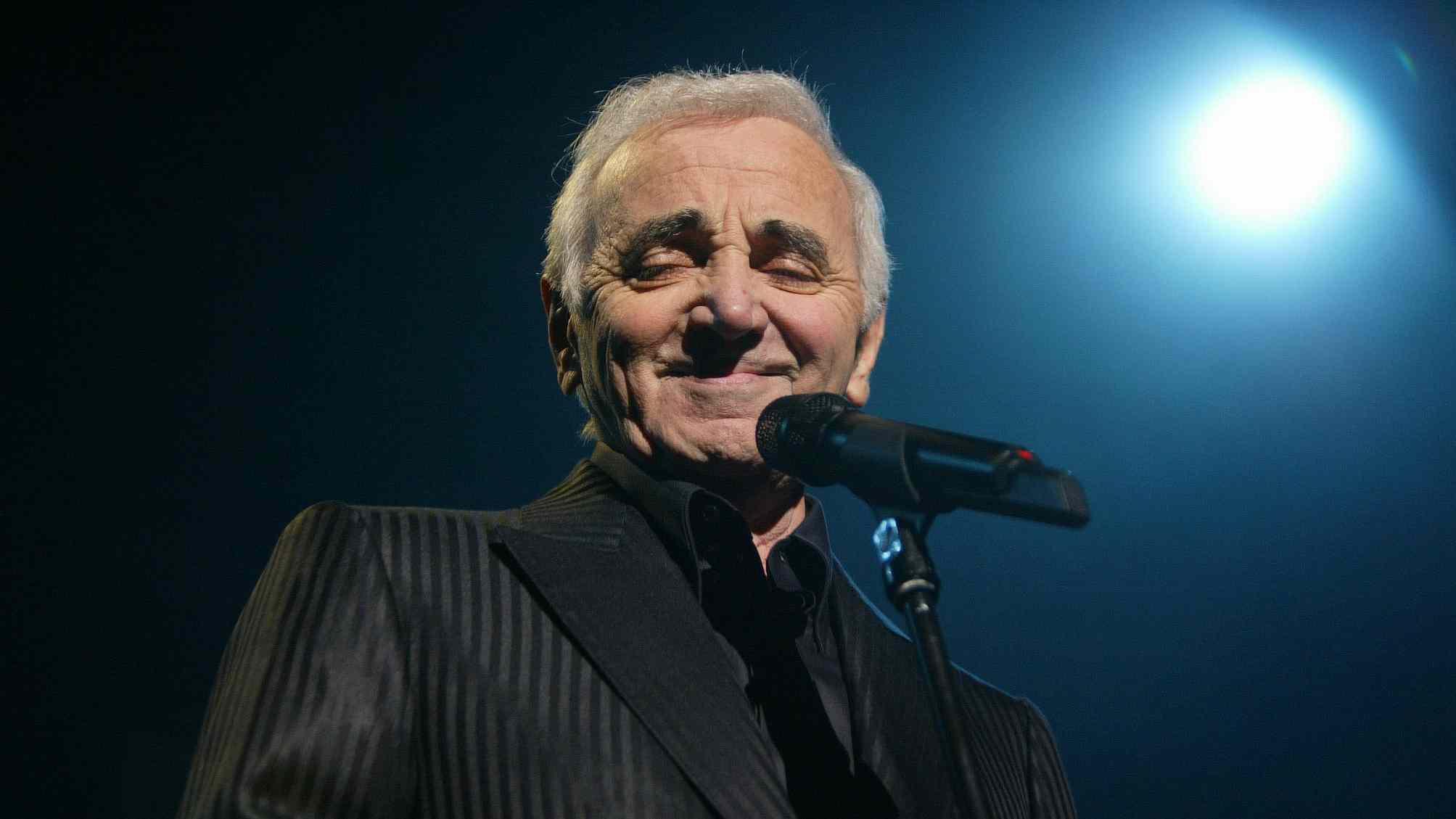 French singer Charles Aznavour dies aged 94