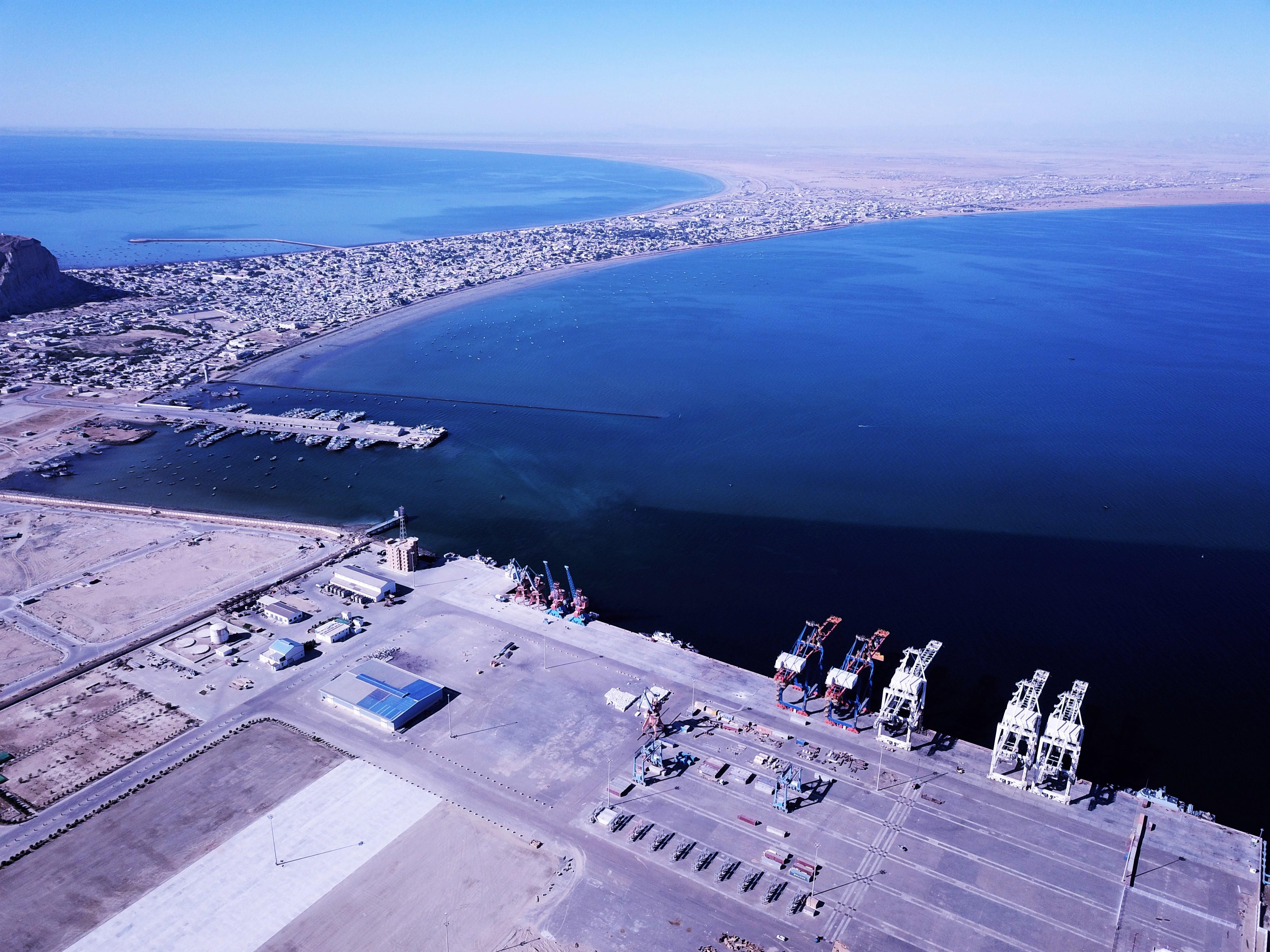 Gwadar Port is 'taking the bright ship of development'