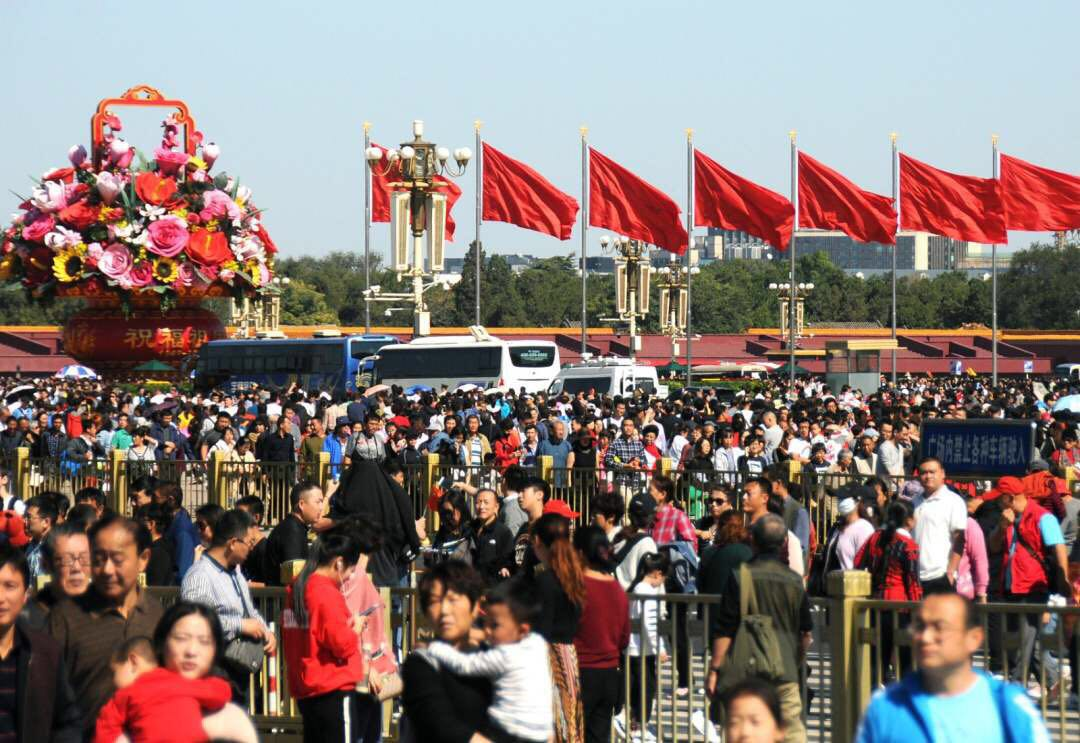 Tourism booms in first day of China's National Day holiday