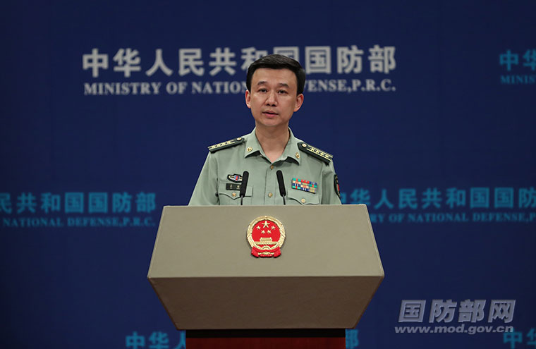 Chinese military opposes US provocation in South China Sea