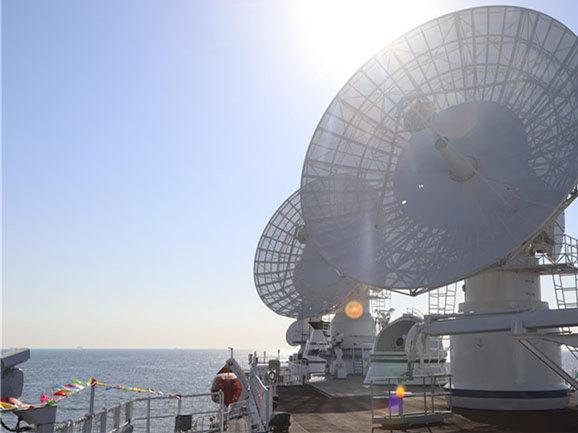 China's tracking ship Yuanwang-3 departs for monitoring missions