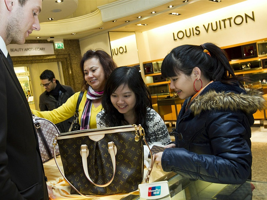 China's National Day holiday means golden week for UK retailers