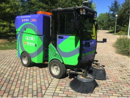 Beijing develops self-driving sanitation vehicle