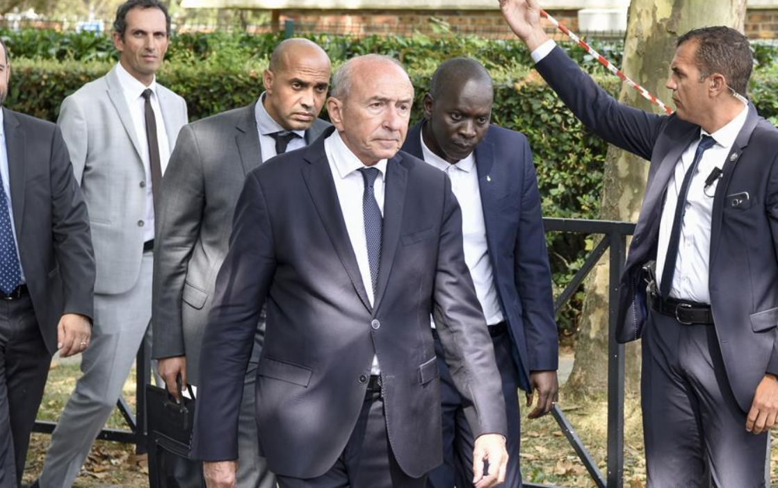 French interior minister quits in fresh blow to Macron