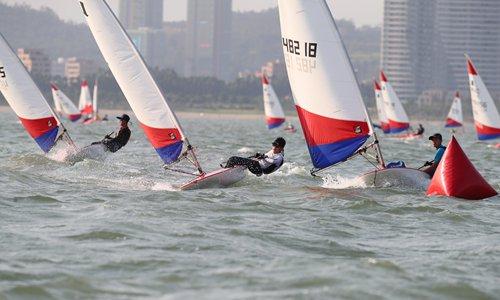 National youth regatta final kicks off in Xiamen