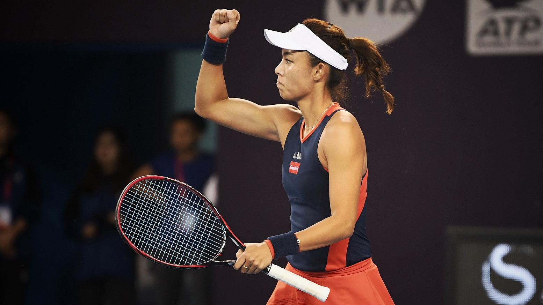 China Open: Wang Qiang storms past Ostapenko, Muguruza falls to Sabalenka