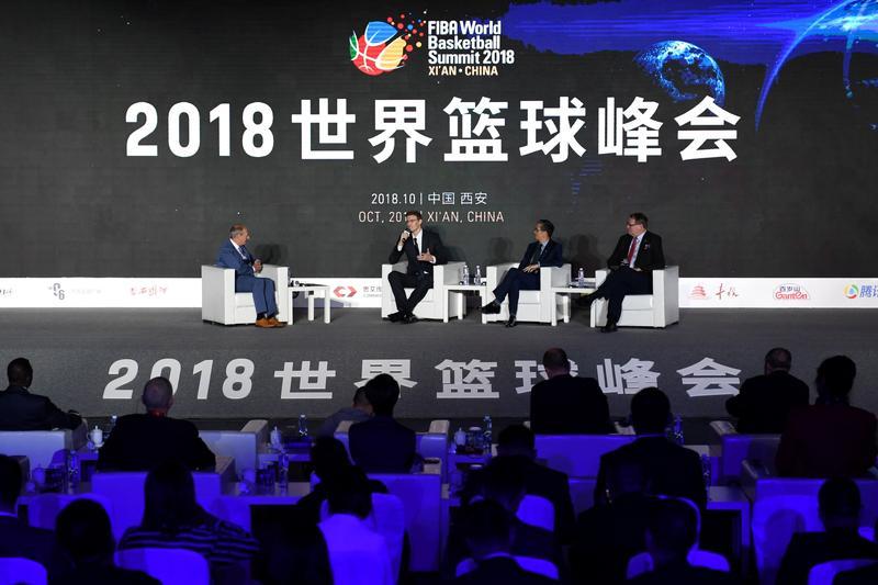 FIBA World Basketball Summit 2018 opens in Xi'an