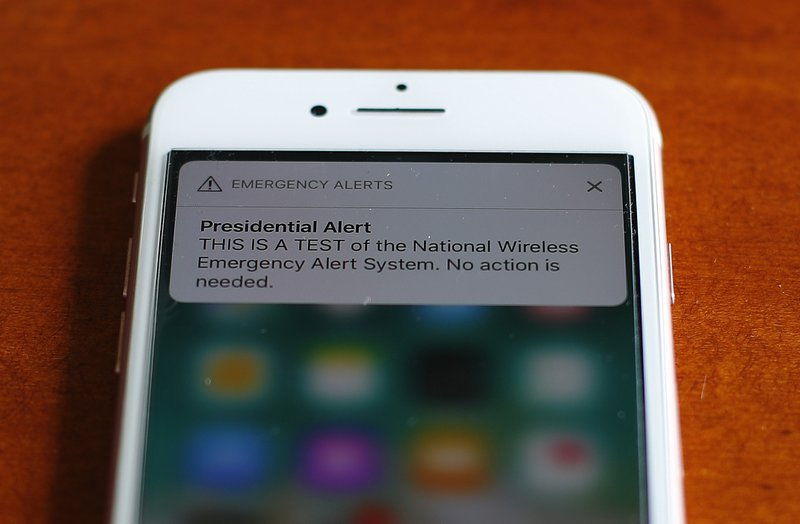 US: Emergency alert test sounds off on mobile phones nationwide