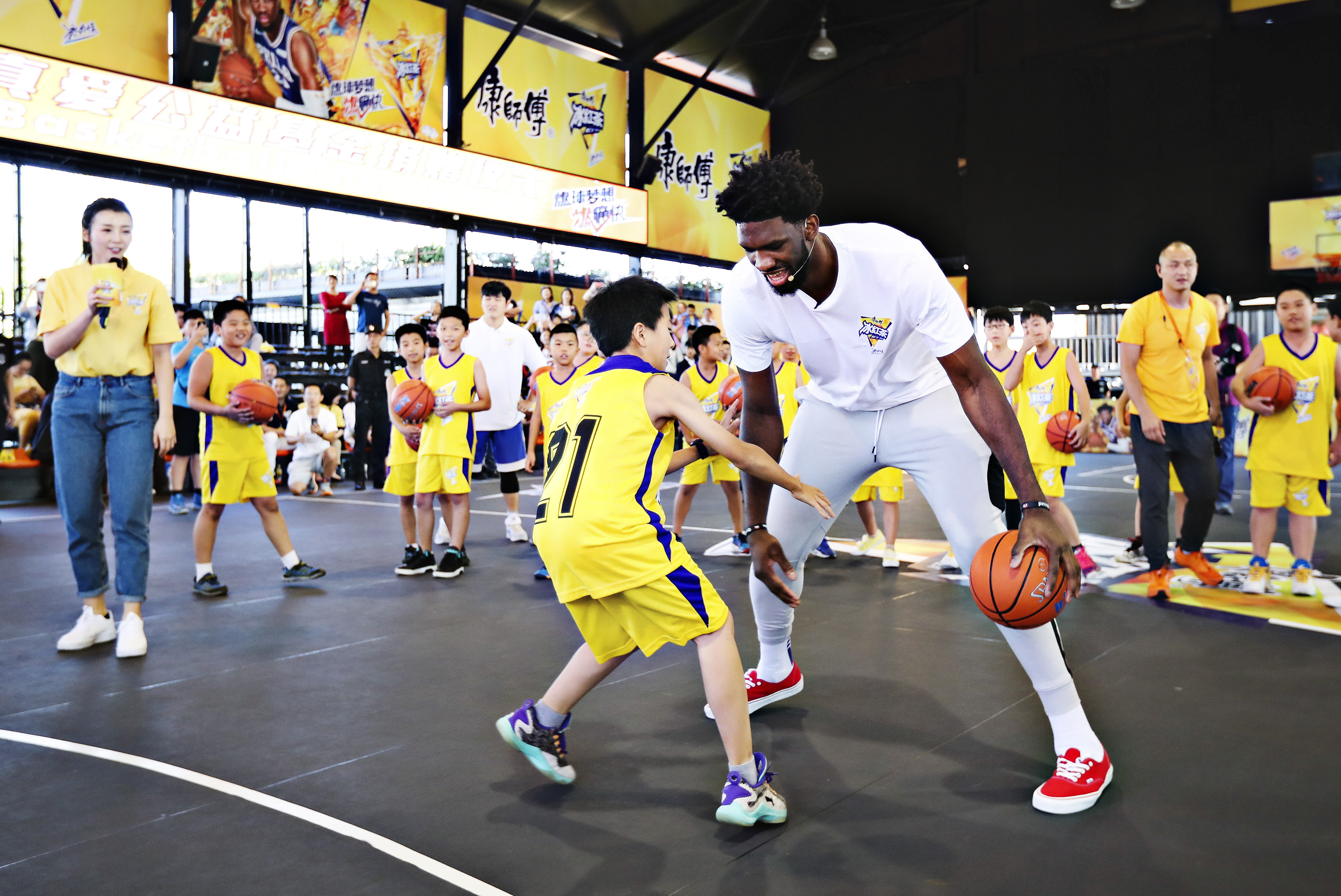 Embiid recalls road to success ahead of NBA China Games