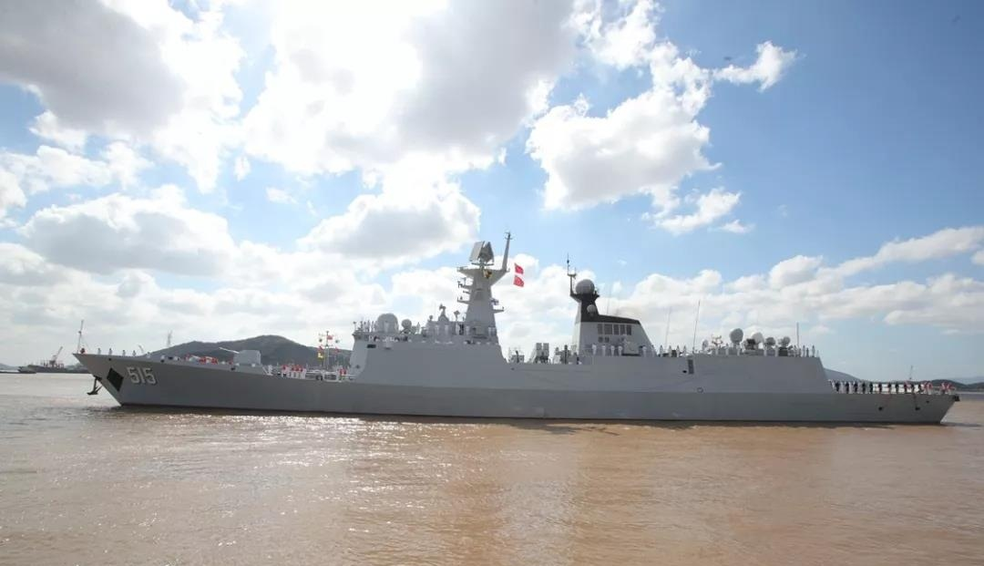 Chinese naval fleet returns from escort missions