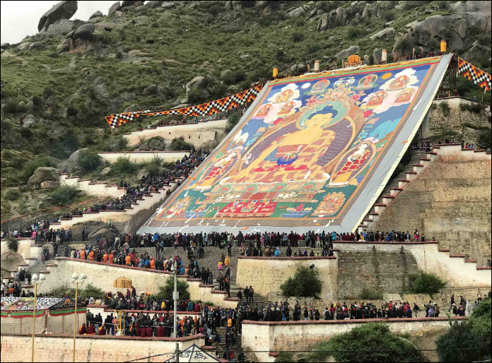 Yogurt and Hadas - Celebrating the Shoton Festival in Lhasa