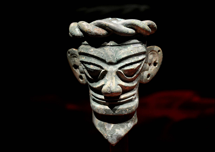 Mystery of Sanxingdui culture on display in museum exhibition