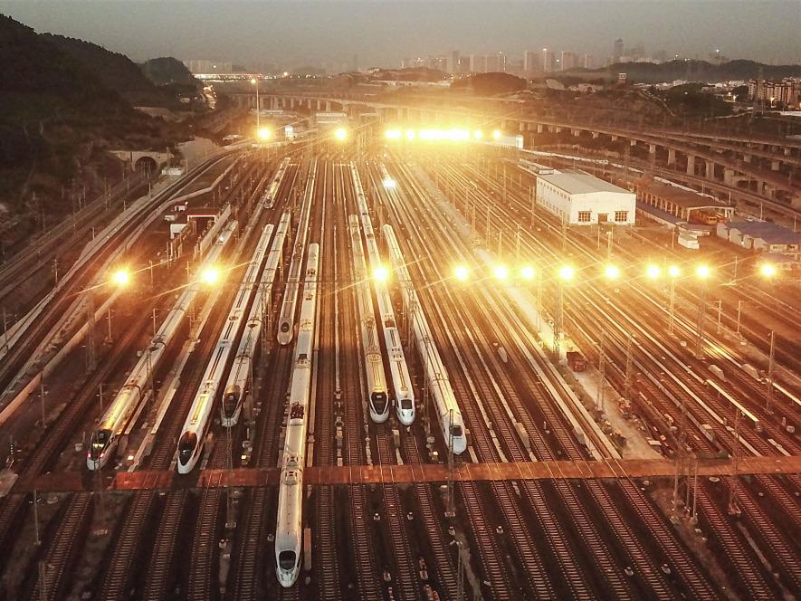 China has 60 pct of world's high-speed railway