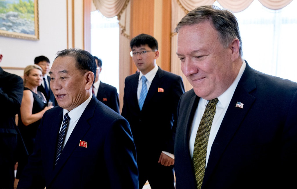 Pompeo hails 'progress' after talks with Kim Jong-Un in Pyongyang