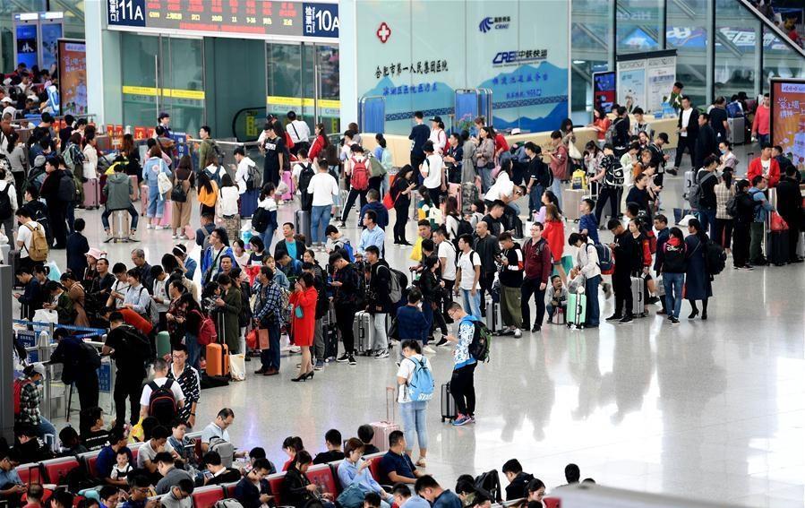 Travel peak seen across China