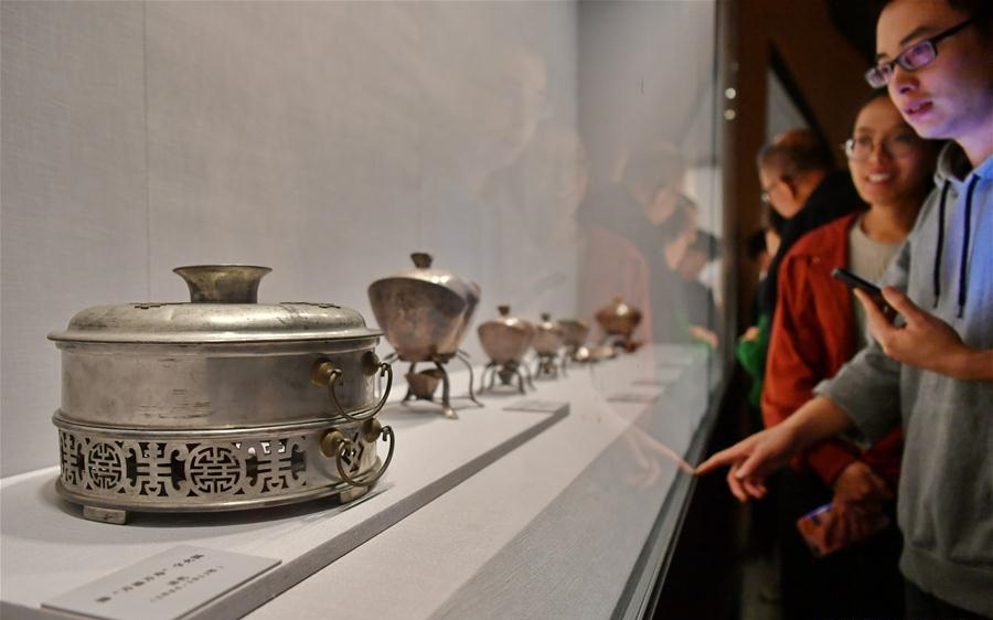 Cultural relics from Palace Museum exhibited in China's Shanxi