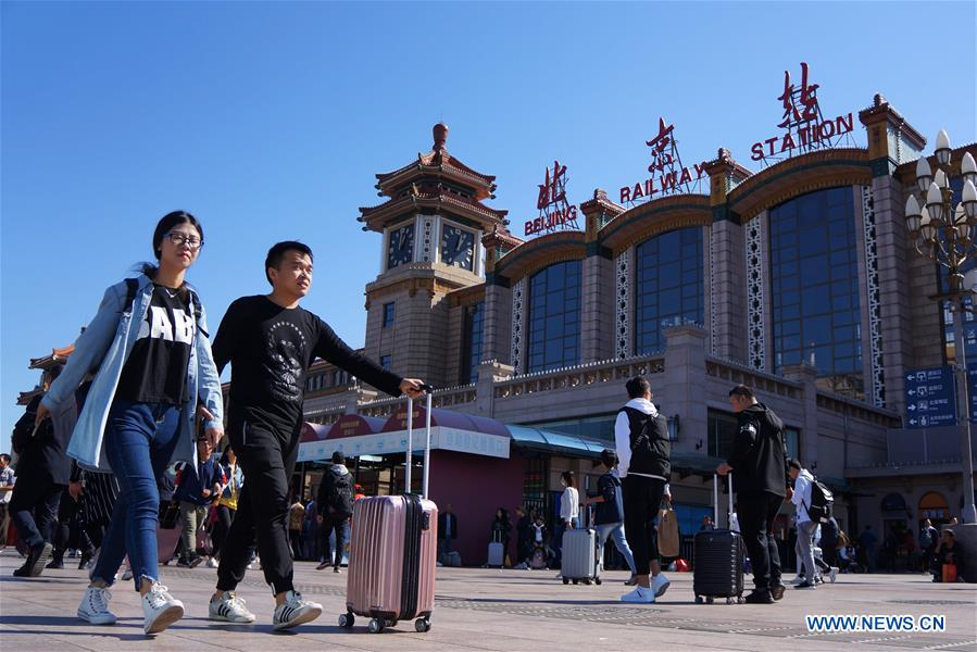 #CHINA-NATIONAL DAY HOLIDAY-TRAVEL PEAK (CN)