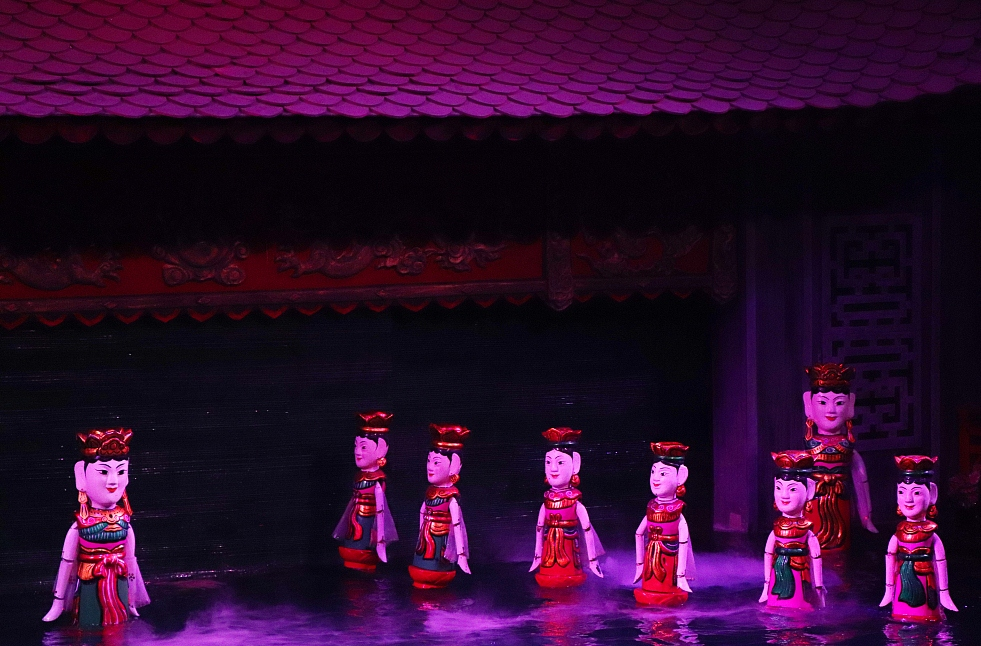 Int'l puppetry festival opens in Vietnam