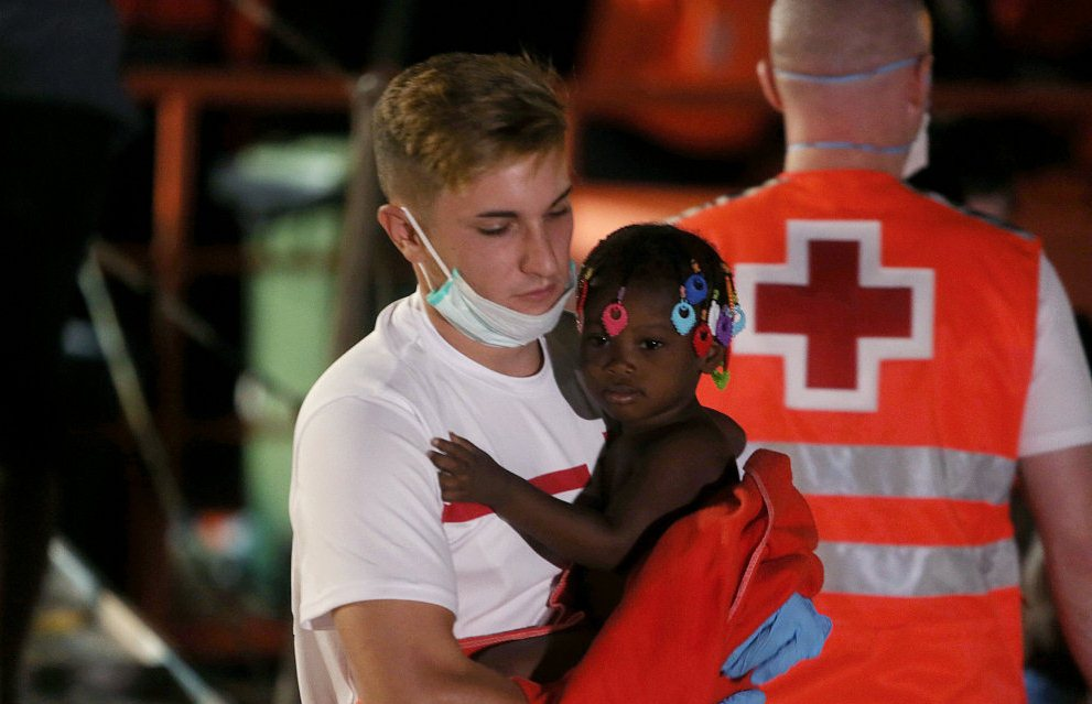 Around 1,500 immigrants rescued by Spanish Maritime Rescue Services