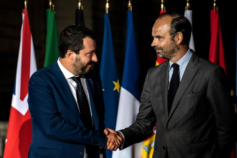 France-Italy tensions as ministers meet on immigration