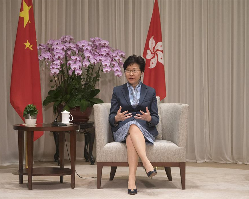 Entry, exit issues within autonomy of China's HKSAR: chief executive