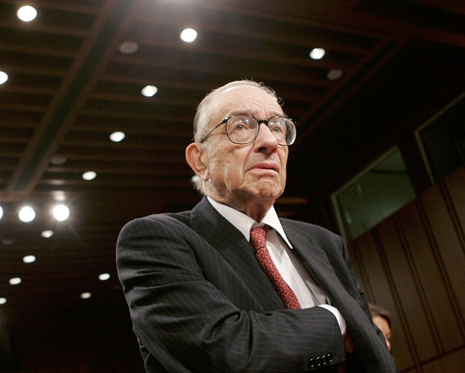 Former Fed Chair Greenspan survives Twitter hoax