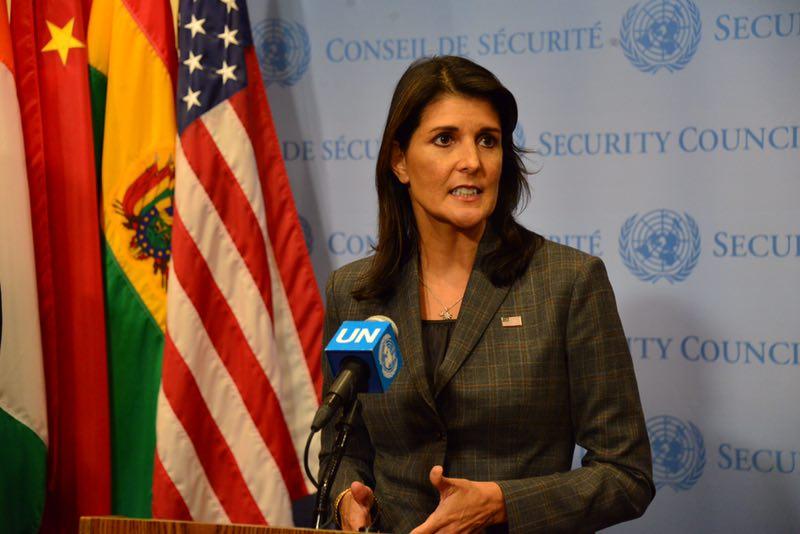 Nikki Haley resigns as US ambassador to the UN