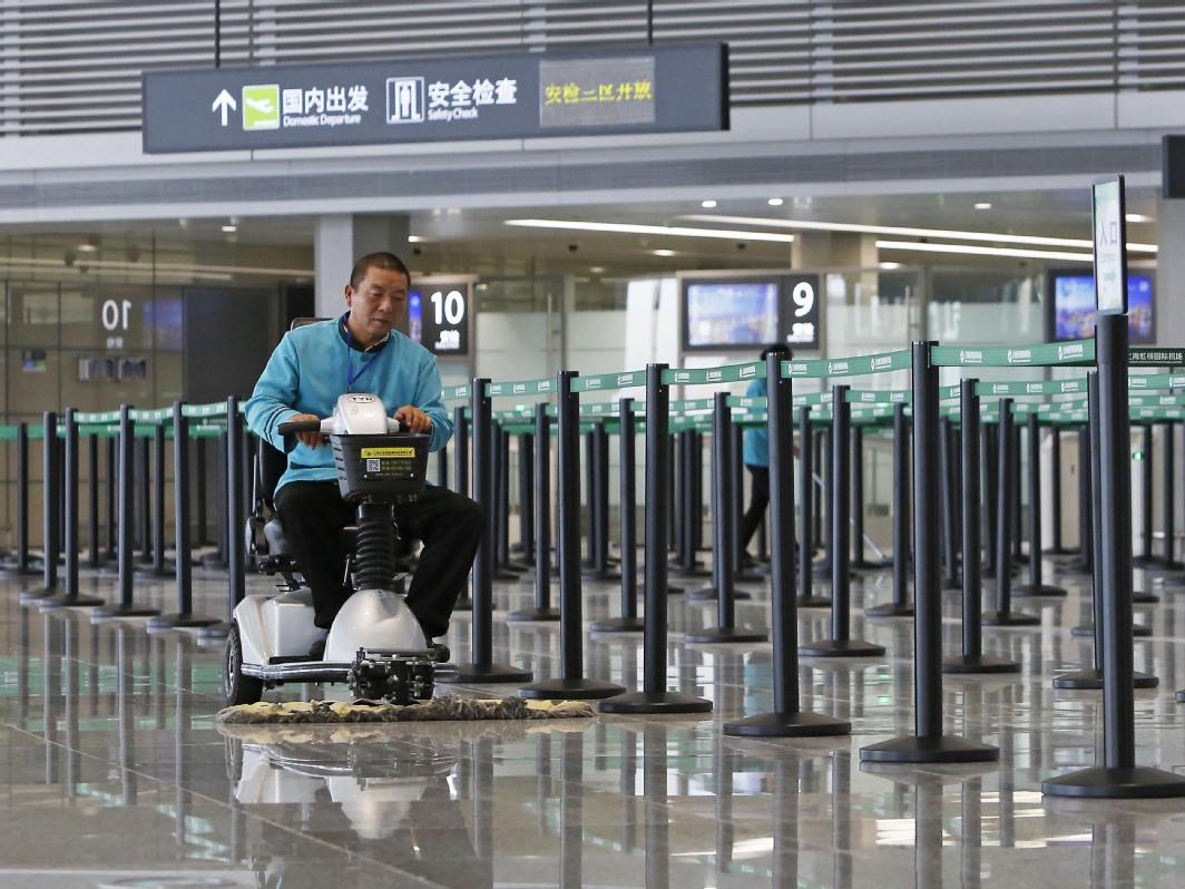Air terminal goes fully automated at Shanghai's Hongqiao International Airport