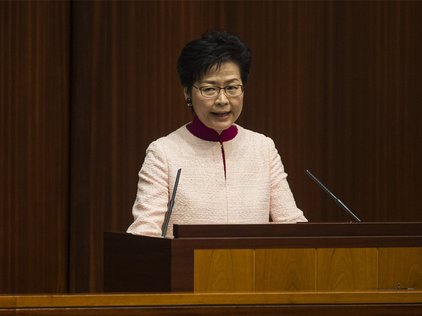 HKSAR chief executive highlights housing, economy, livelihood in policy address
