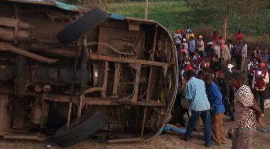 At least 50 killed in road accident in northwest Kenya