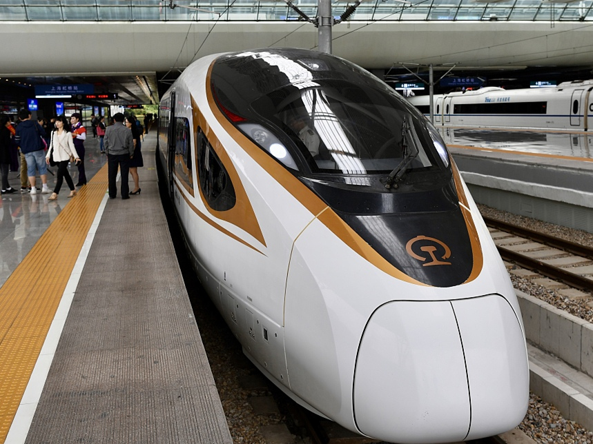 Fuxing bullet trains more intelligent in dealing with overload