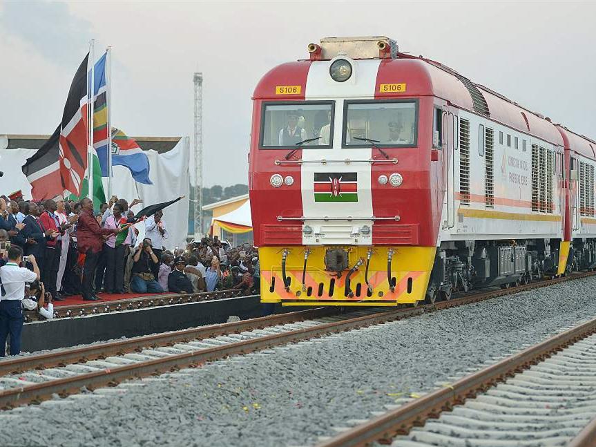 Mombasa–Nairobi railway built by China wins leading industry award