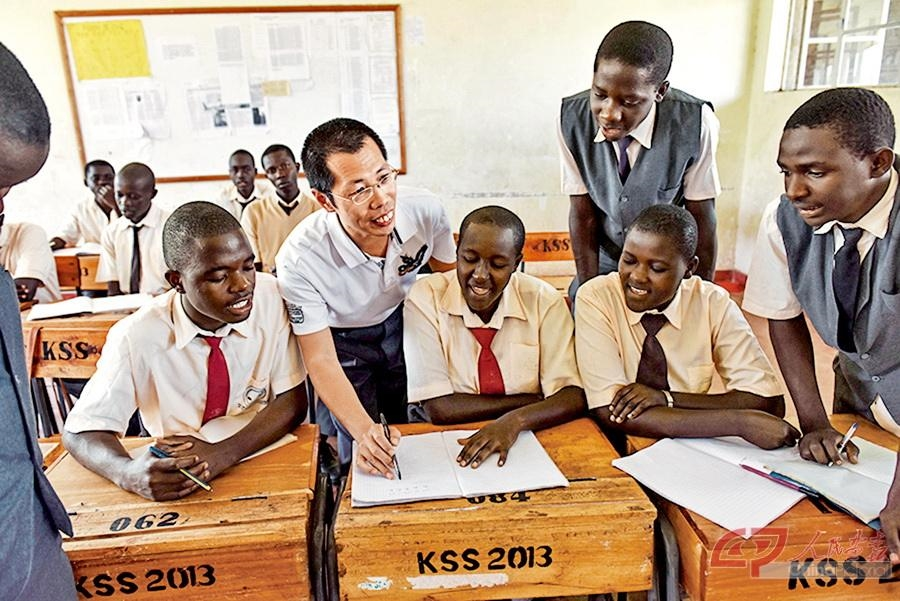 Chinese young man helps realize dreams of impoverished African children