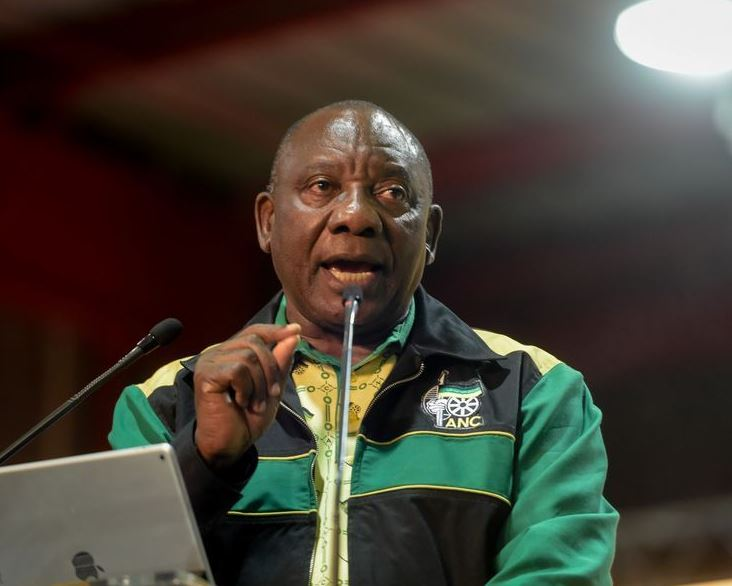 S. African president links real peace with land reform