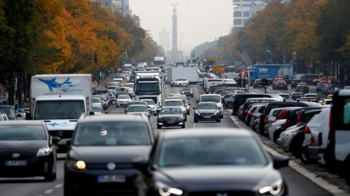 EU nations agree to seek 35 percent CO2 cut on cars by 2030