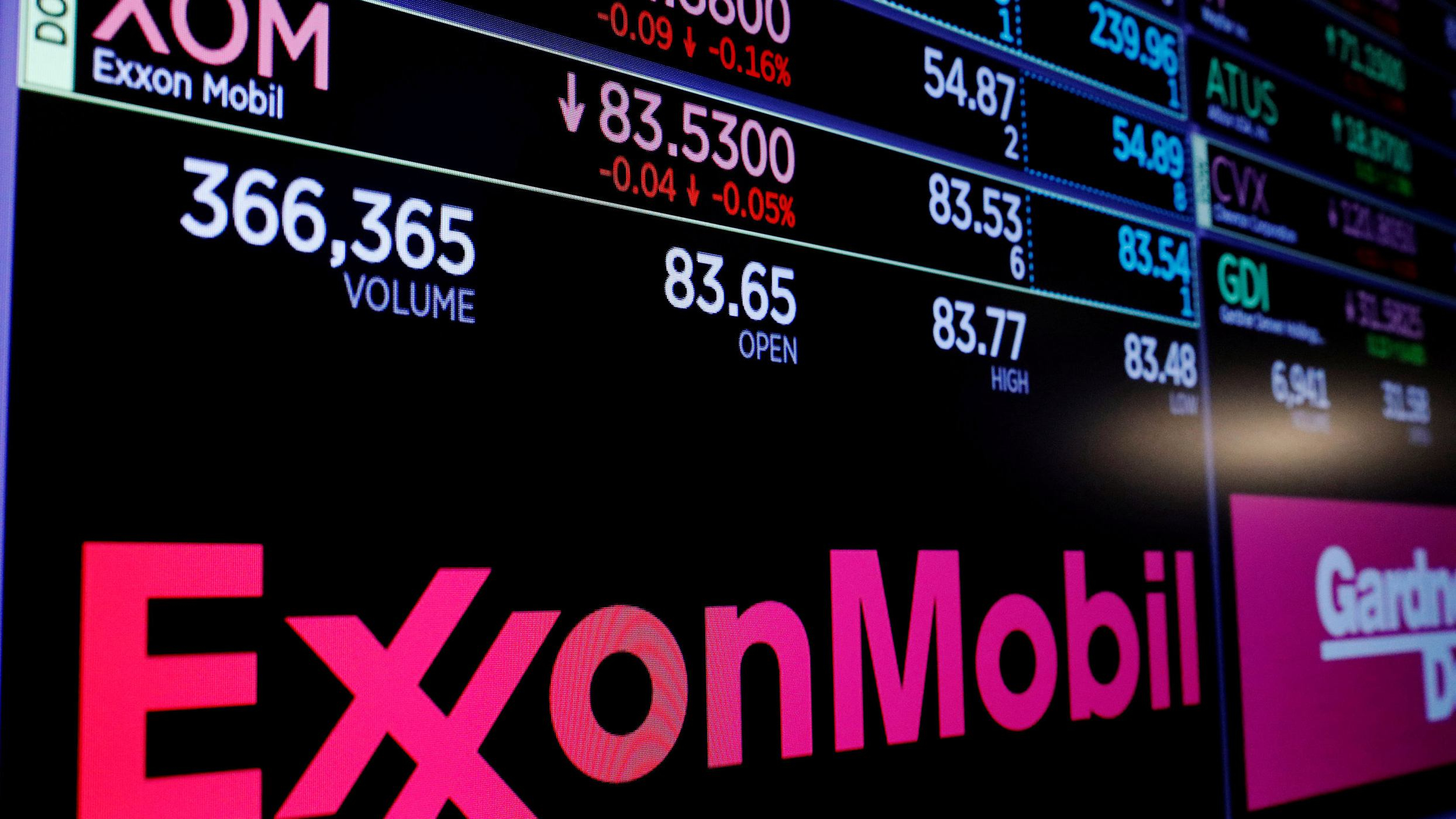 Exxon Mobil gives $1 mln to lobby for US carbon tax