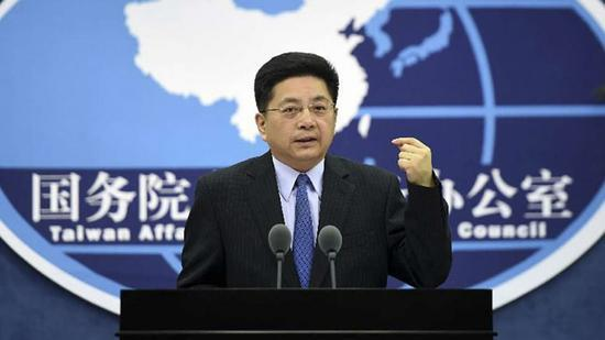 Separatist attempt doomed to fail: Chinese mainland spokesperson