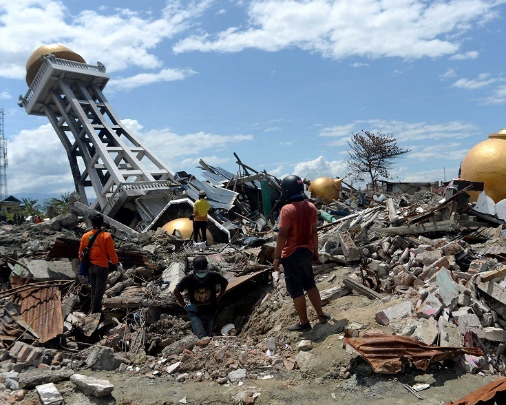 Reconstruction in Indonesia's quake, tsunami-hit areas set to begin next month