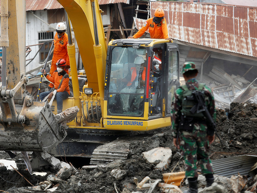 Search called off in Indonesian quake-tsunami: official
