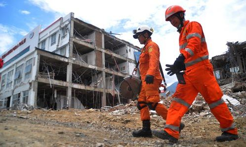 Chinese efforts underway in reconstruction of quake-hit Indonesian city