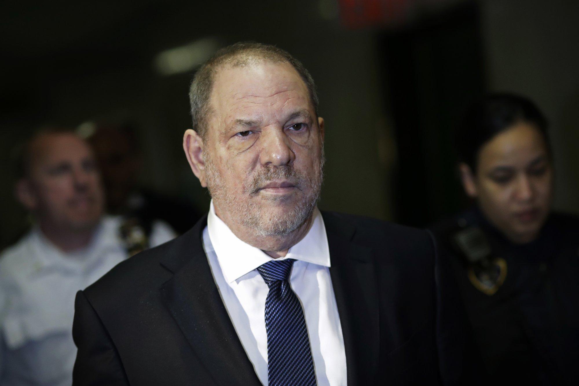 Manhattan DA drops part of Weinstein case