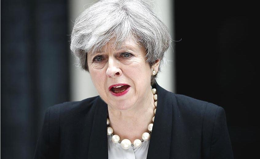 Theresa May file photo xinhua.JPG