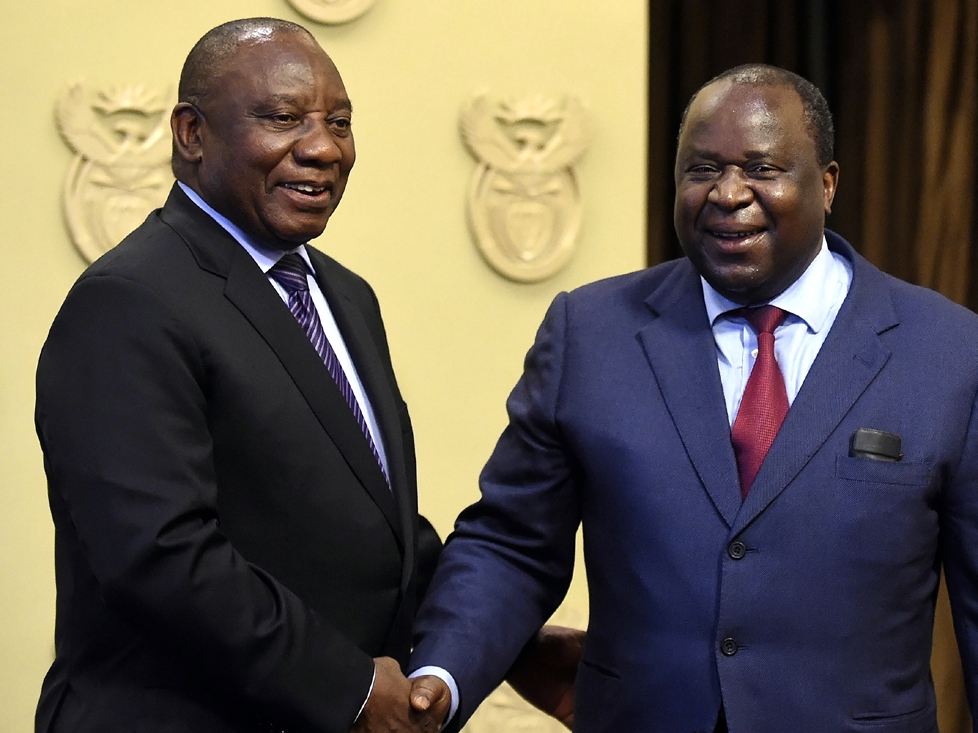 S. African business community welcomes new finance minister
