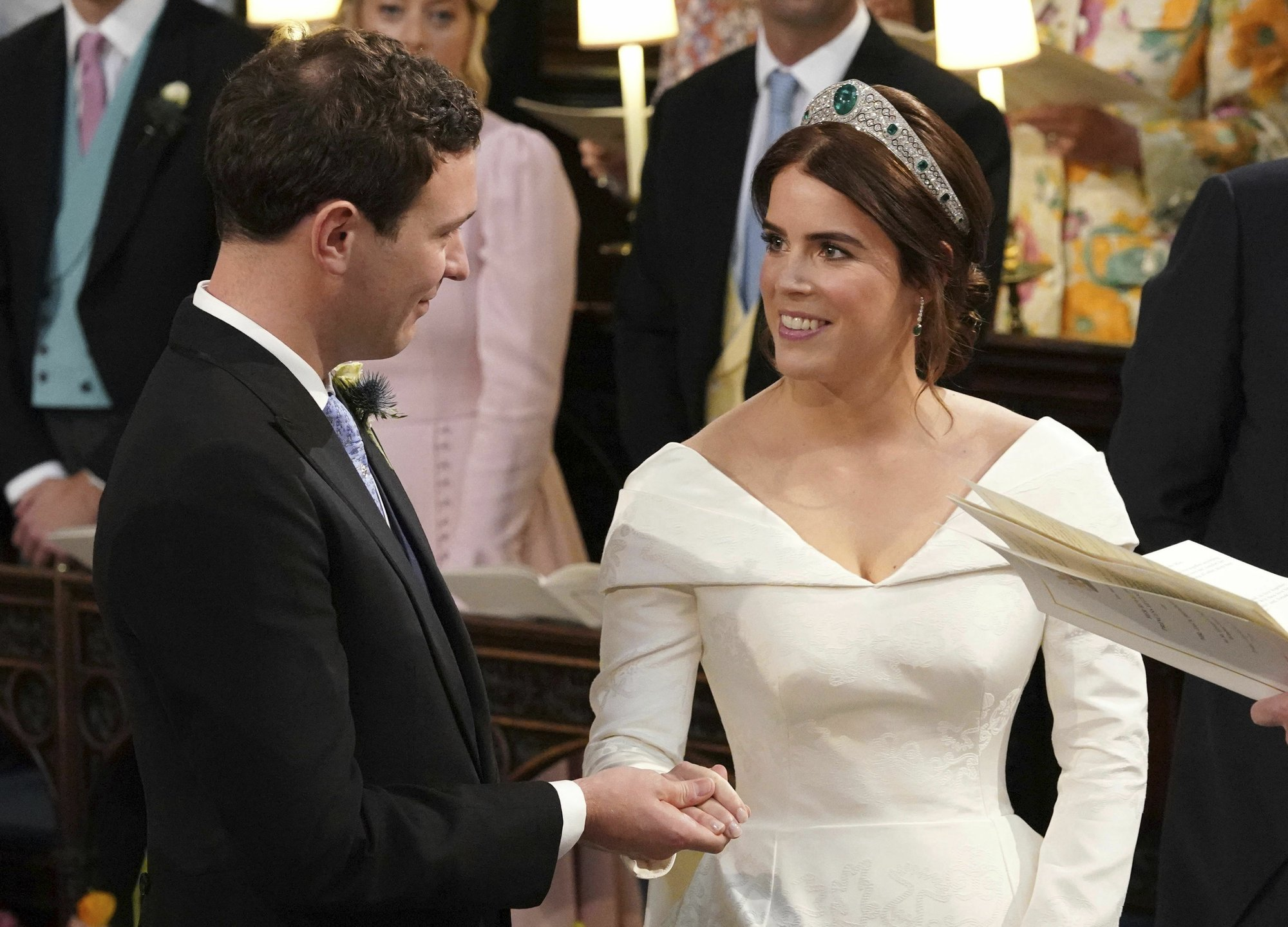 Britain's Princess Eugenie weds her beau at Windsor Castle